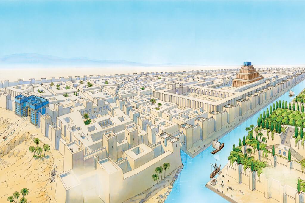 Kde byla Mezopotámie