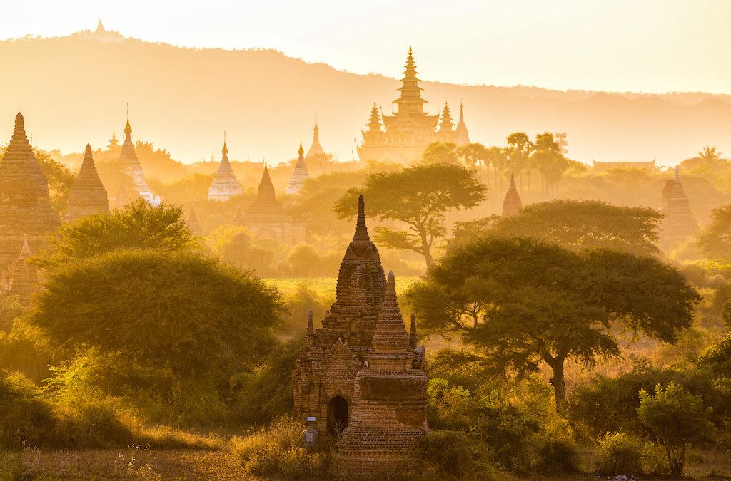 Barma a její neskutečné buddhistické památky