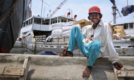 Bohatá chudá Jakarta