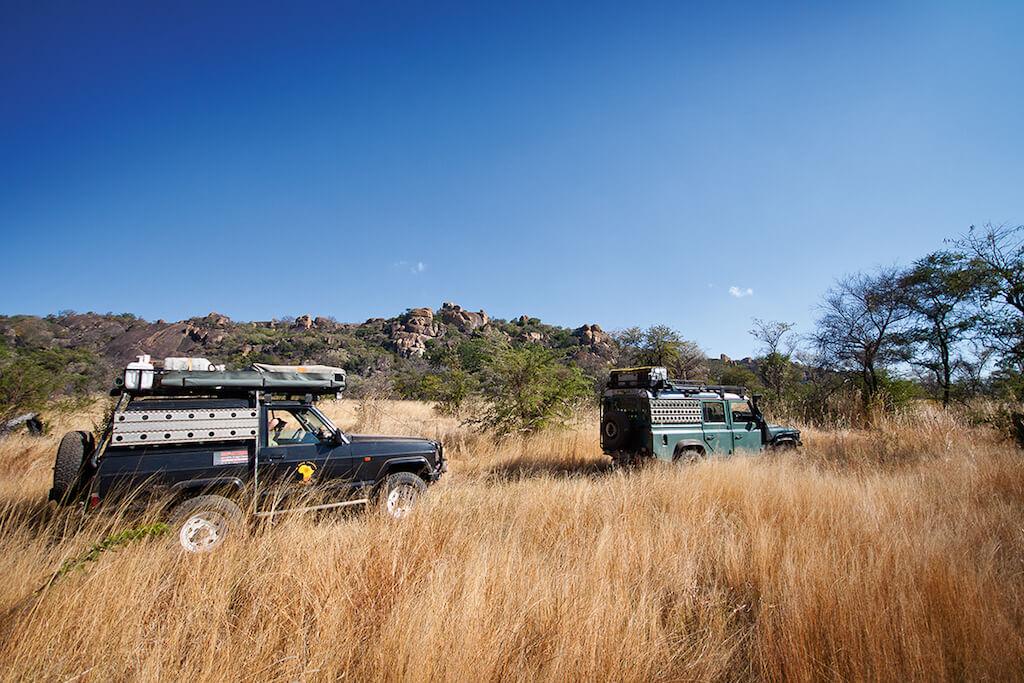 Zimbabwe pravěké skalní kresby