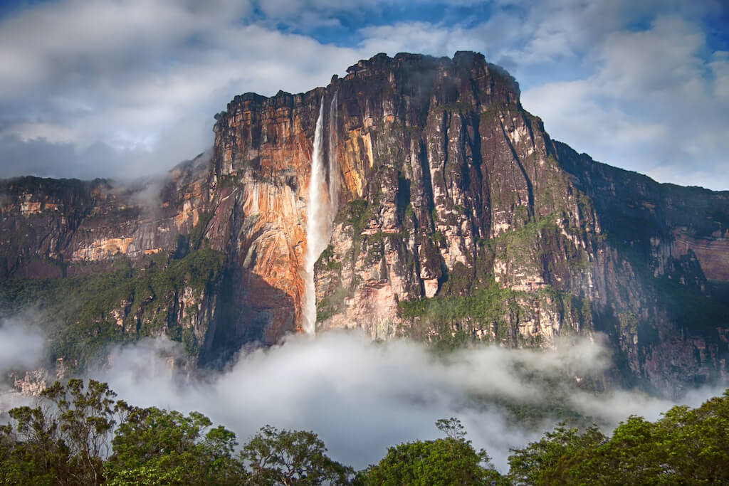 vodopád Salto Angel, Venezuela