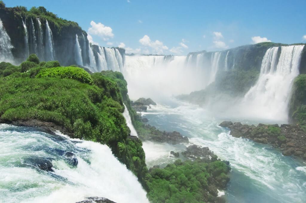 vodopády Iguazu Falls Brazílie