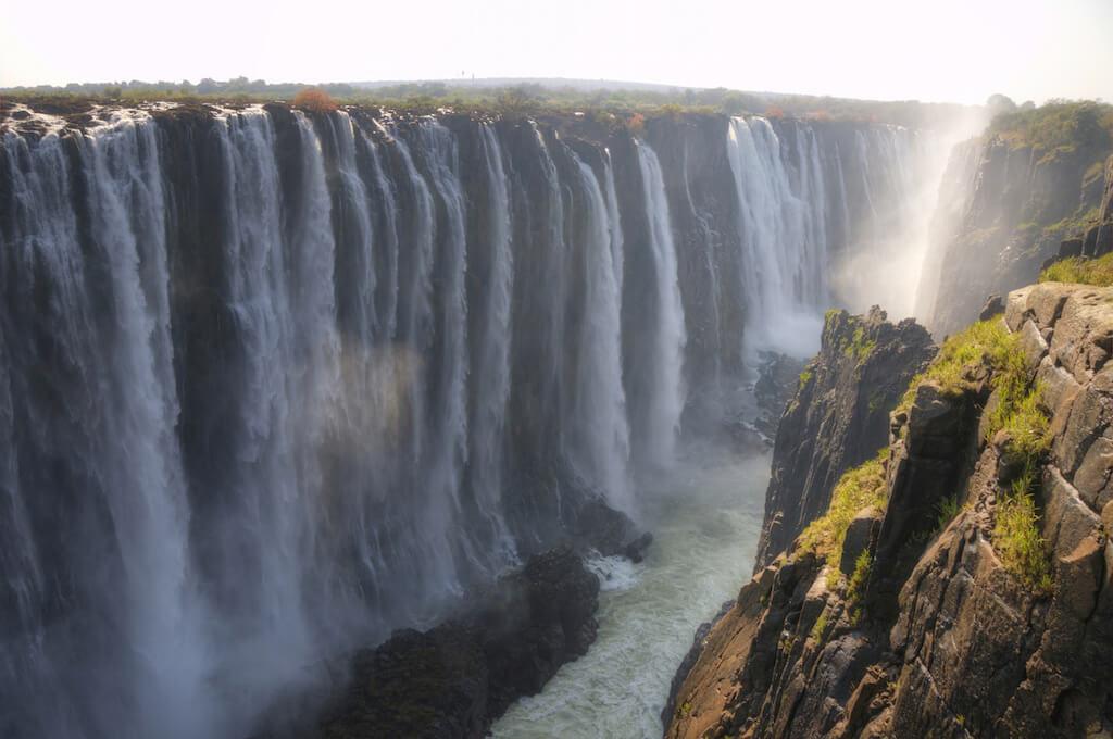 Viktoriiny vodopády, Zimbabwe