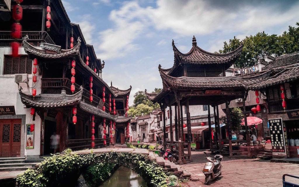 Nejkrásnější venkov v Číně, rodiště bohaté kultury Huizhou