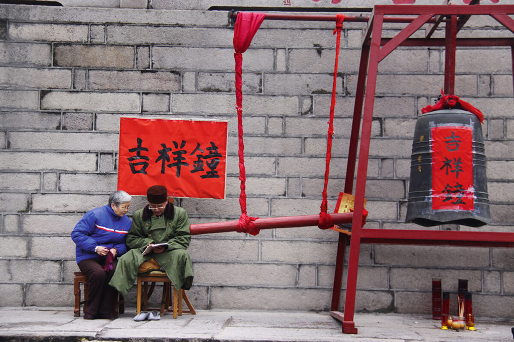 čínské kláštery