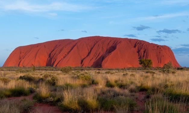 Putování pustou a přitom nádhernou krajinou Austrálie