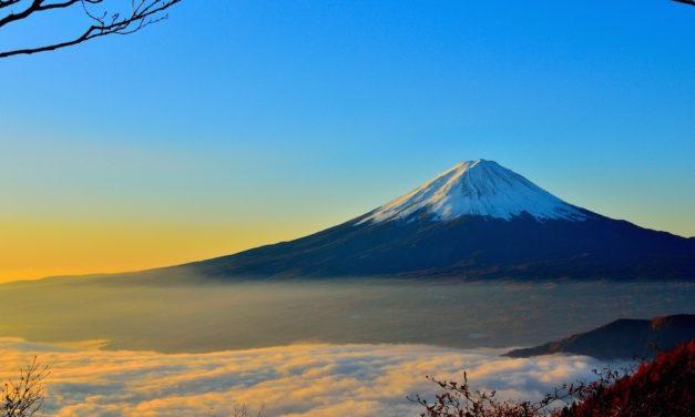 Zasněžené Japonsko a orlí putování