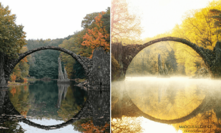 Takto vypadají stejná místa, když je vyfotí profesionál a amatér