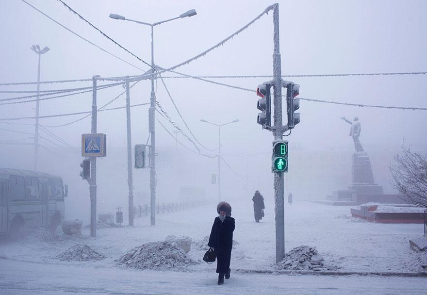 nejchladnější místo světa