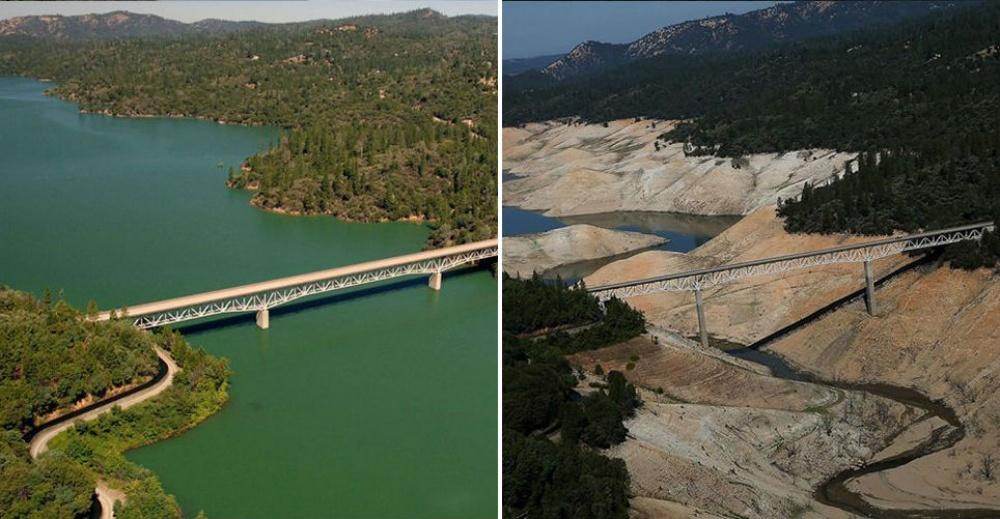 Planeta Země před a po: dramatické změny naší planety na neskutečných snímcích z NASA