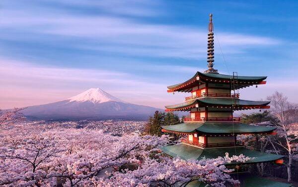 Po celém Japonsku právě teď rozkvétají milióny třešní. Neskutečná nádhera, co říkáte?