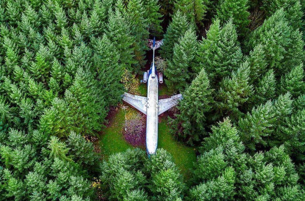 10 ohromujících fotek vraků letadel, které budí respekt