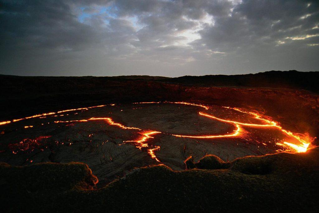Etiopie sopka