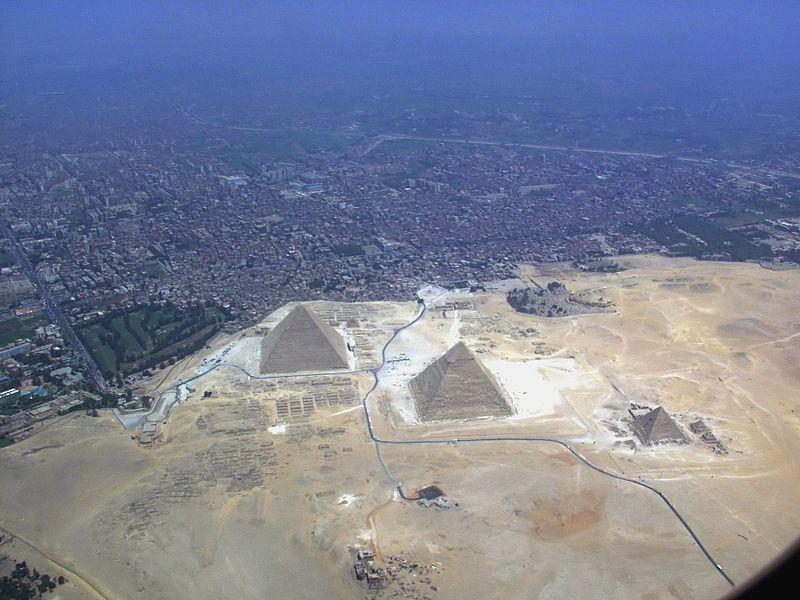 Pyramidy v Gíze 2