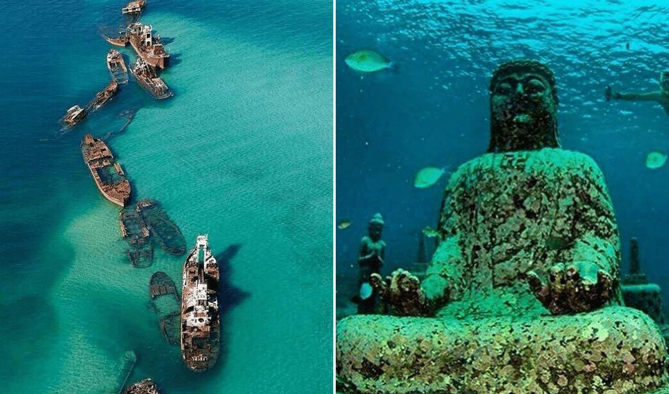 15 neskutečných míst pod vodou, o kterých jste nejspíš nikdy neslyšeli2 minut čtení