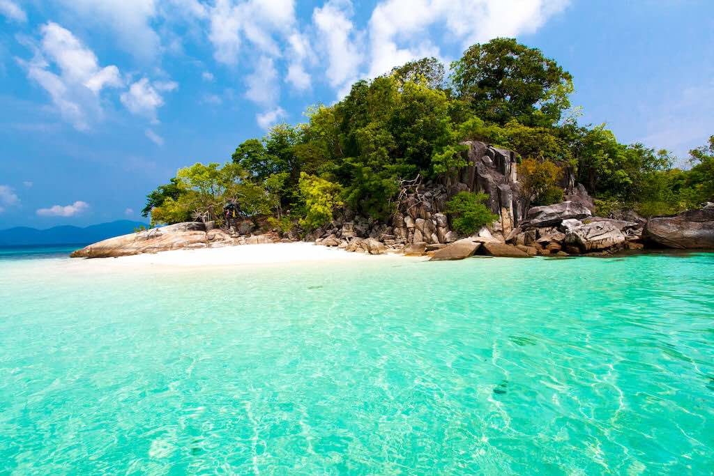 thajských ostrovů koh lipe