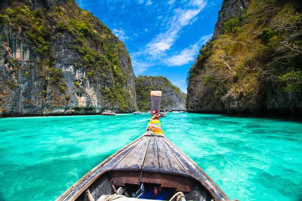 Thajsko ostrovy koh phi phi