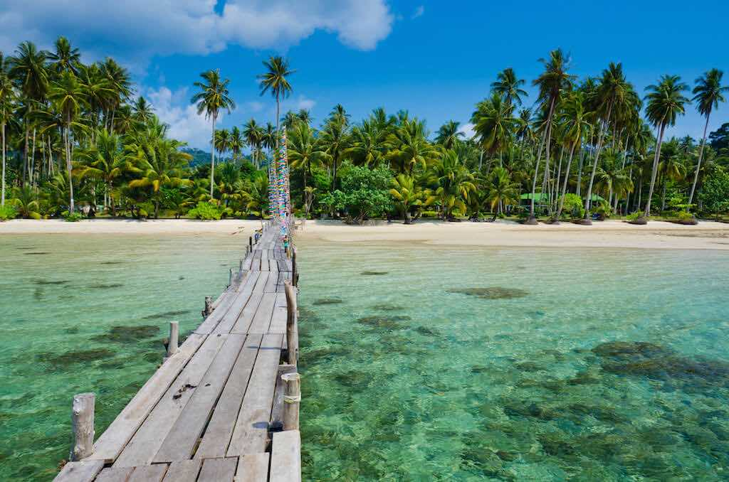 Thajsko ostrovy Koh Kood