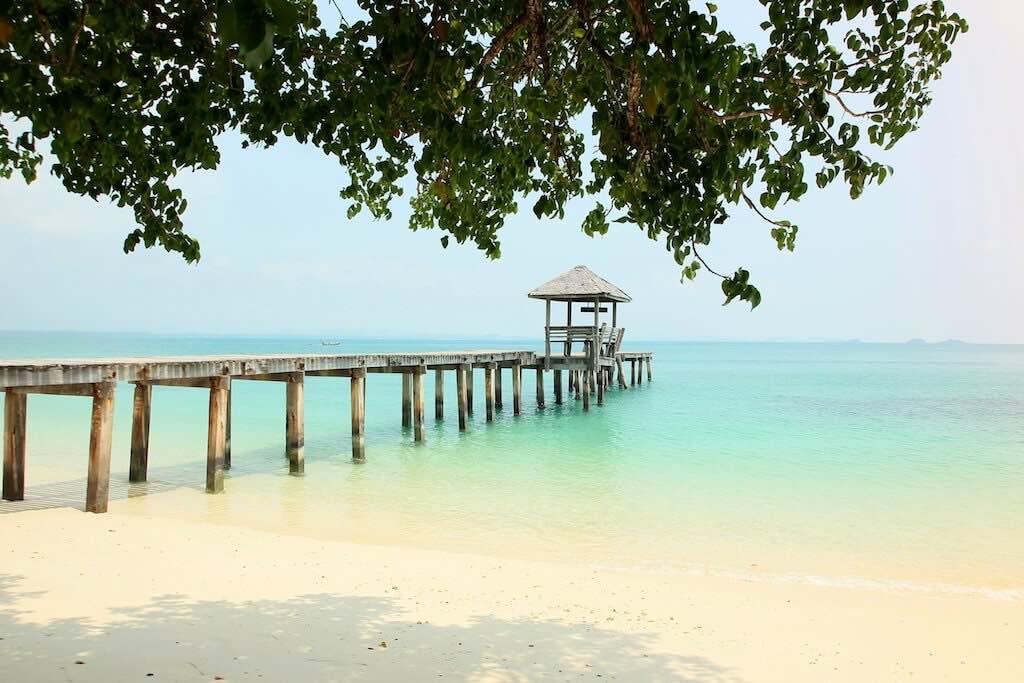 Thajsko ostrovy koh samet