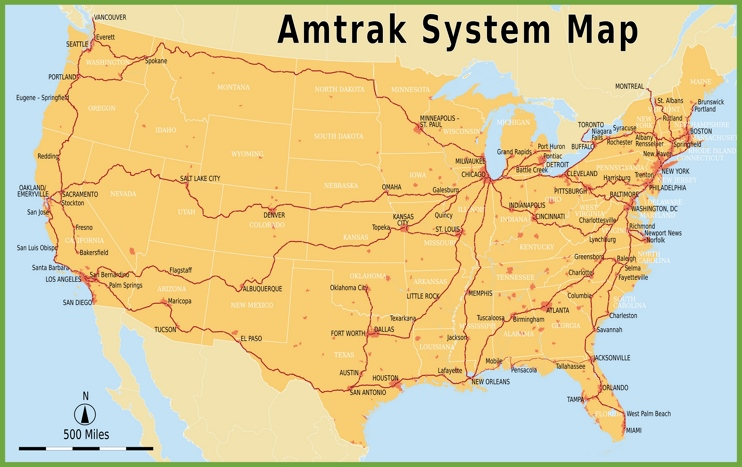 amtrak vlak