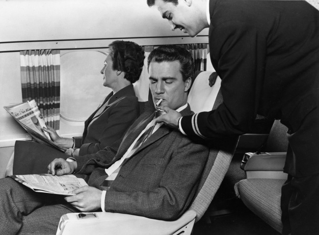 proc se v letadle nesmi kourit