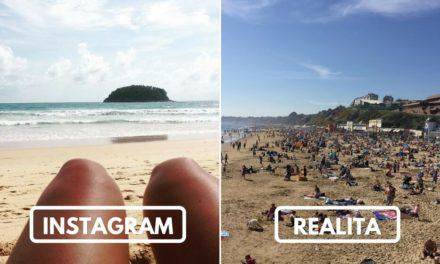 Fotky z dovolené jak je ukazujeme na sociálních sítích vs. realita