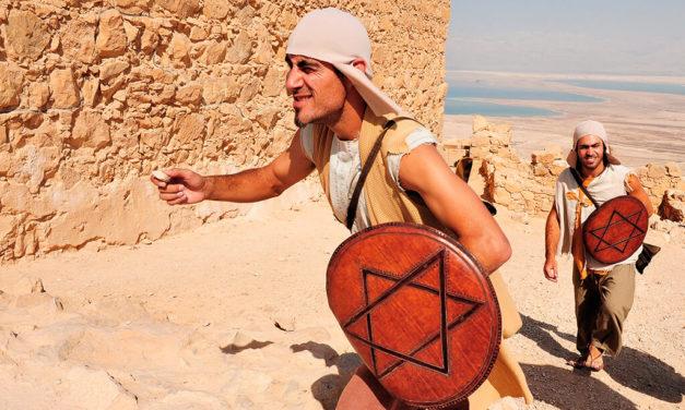 Masada, místo, kde 1000 lidí raději spáchalo sebevraždu, než aby padli do rukou Římanům