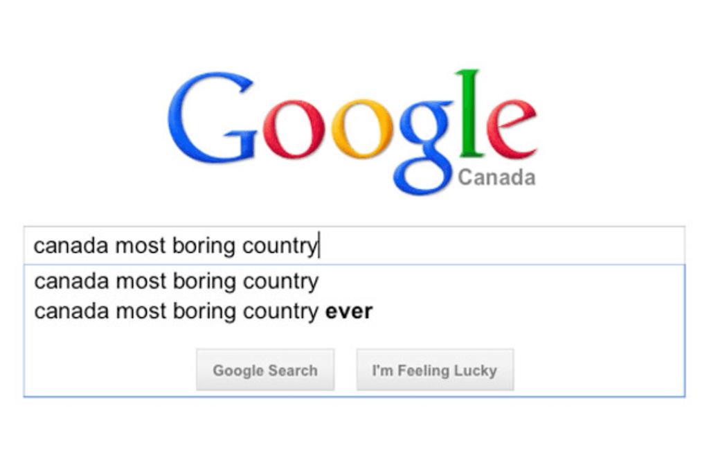 nejnudnější země světa kanada