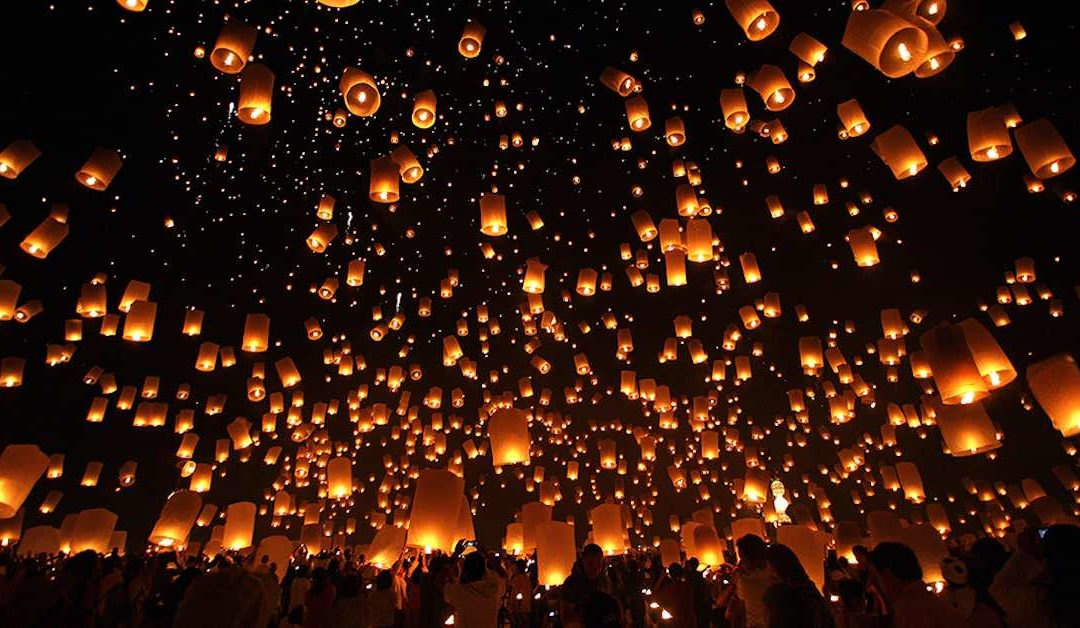 Toto je nejkouzelnější festival světa Loy Krathong