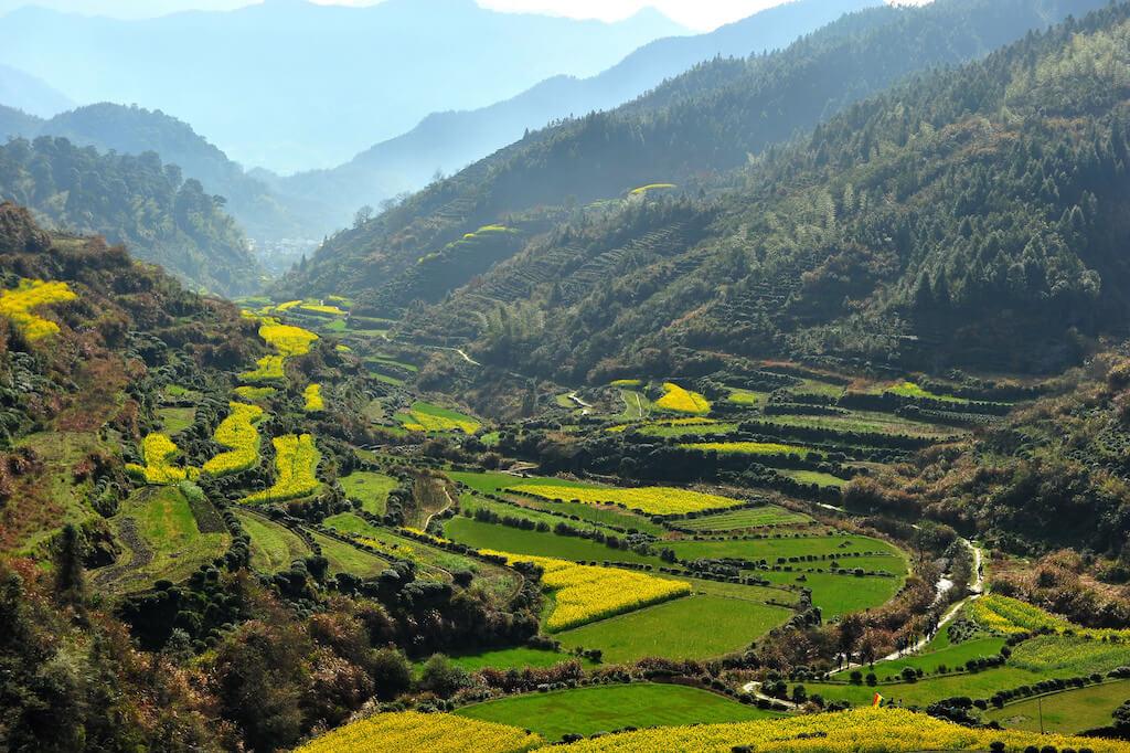 nejkrásnější vesnice v Číně