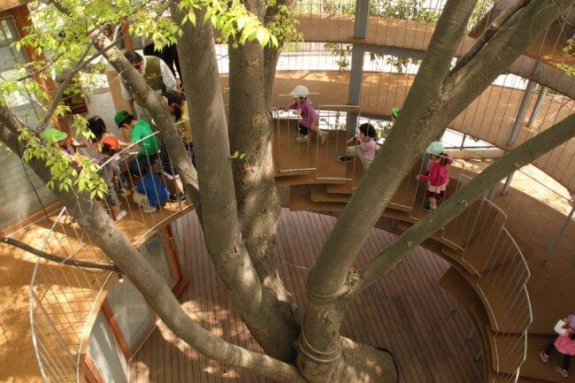 strom schodiště