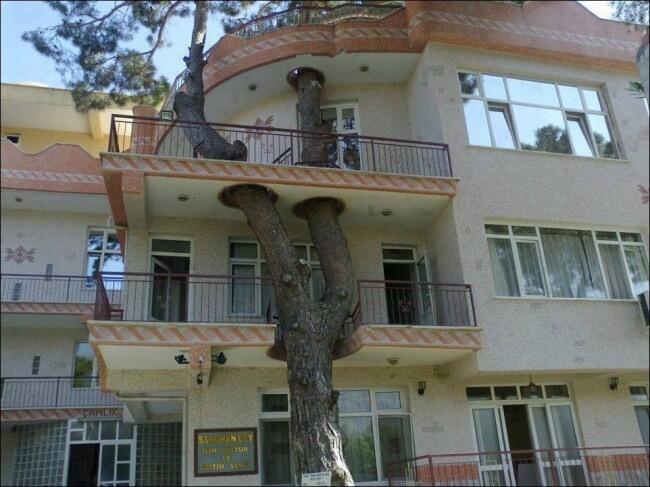 strom balkon