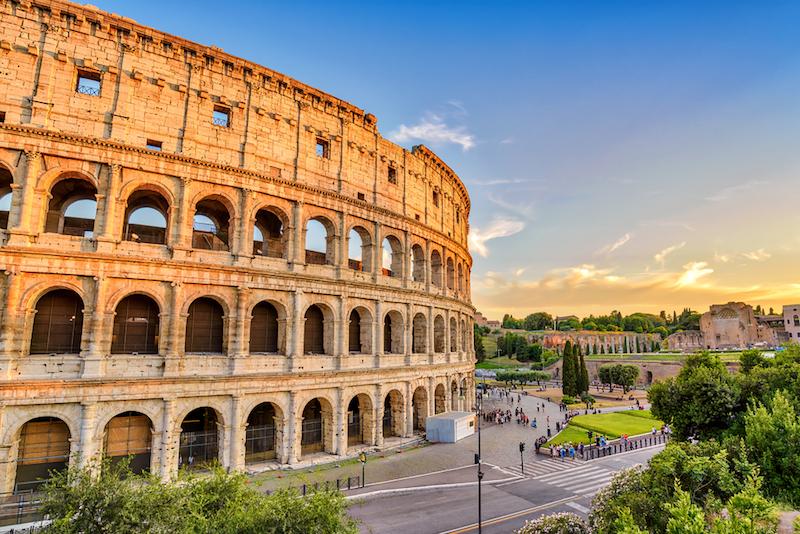 Koloseum,Řím