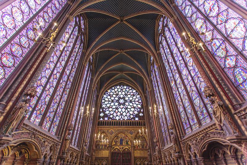 Sainte-Chapelle, Paříž