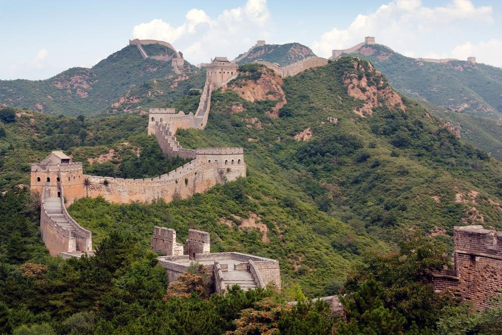 Velká čínská zeď,Čína