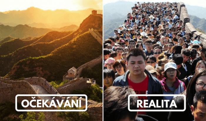 20 nejkrásnějších turistických destinací: naše očekávání vs. realita2 minut čtení