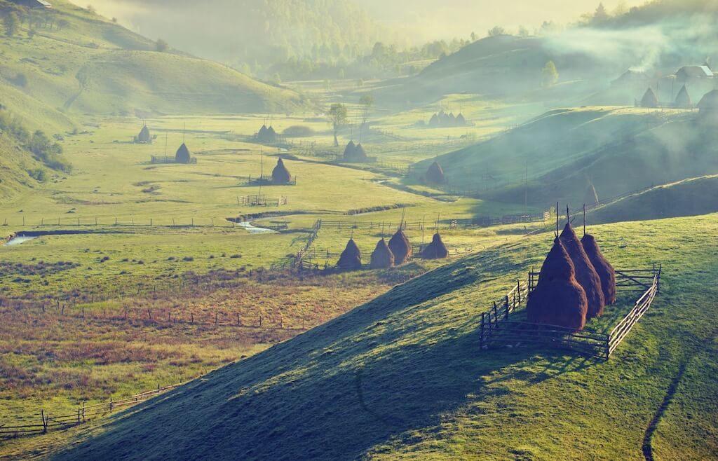 rumunsko vesnice
