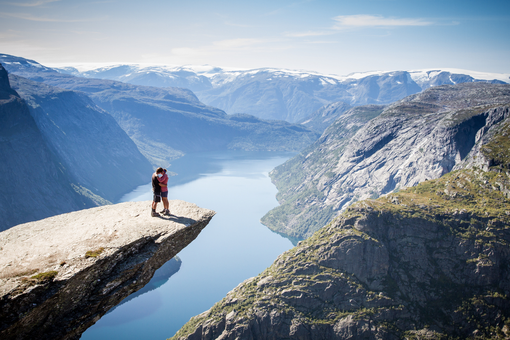 norsko Trolltunga
