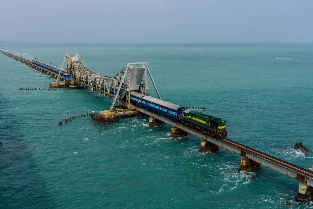 Pambanský most, Indi