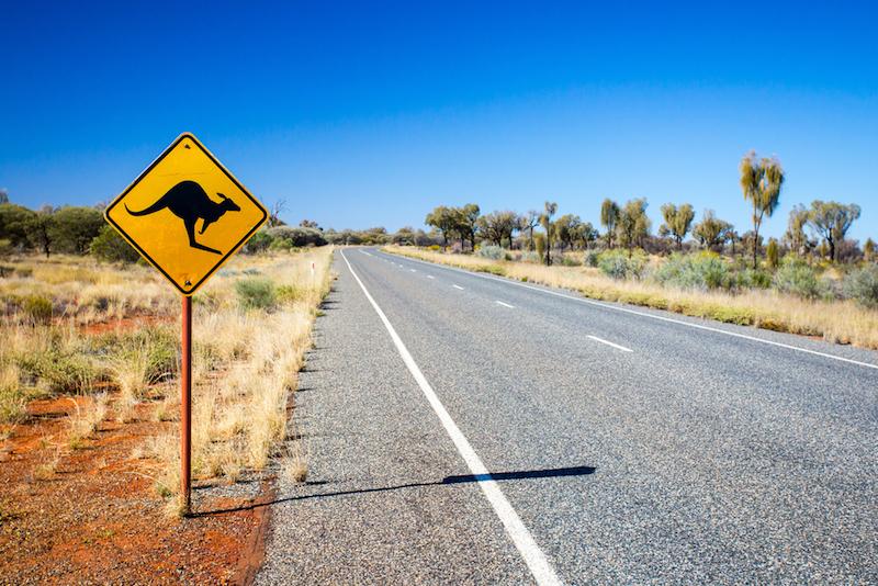 Cesta k Uluru