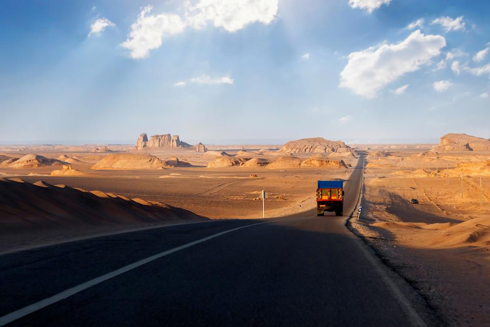 Írán silnice