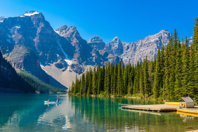 Kanada, jezero Moraine