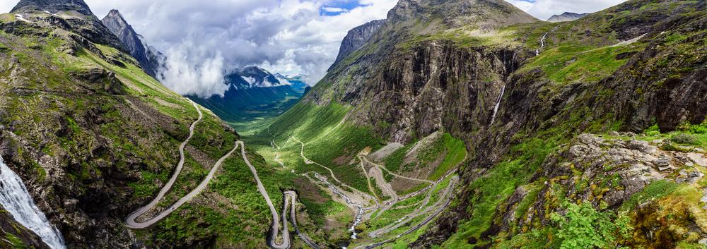 Trolí stezka, Norsko