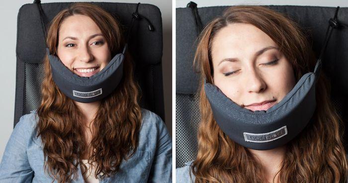 Někdo konečně vynalezl chytrý cestovní polštářek, díky kterému se pohodlně vyspíte v letadle2 minut čtení