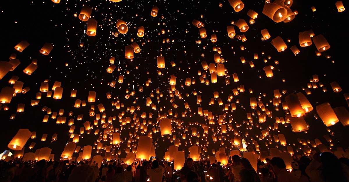 Toto je nejkouzelnější festival světa Loy Krathong3 minut čtení