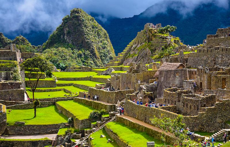 Machu Picchu schody