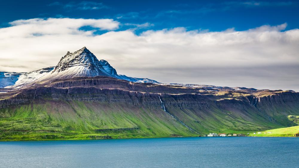 islandske fjordy
