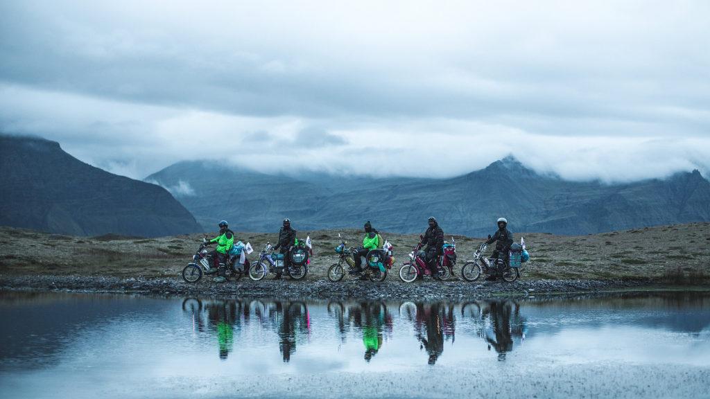Babetou napříč Islandem