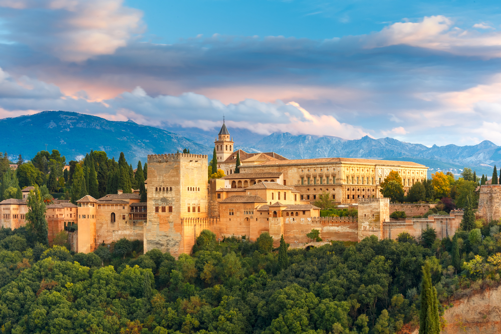 Alhambra, Granada Španělsko