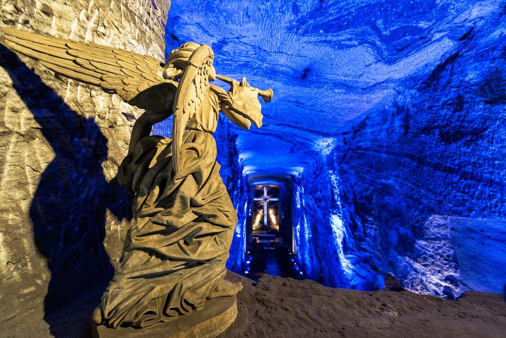 Katedrála Zipaquirá Salt